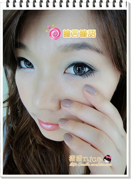 韓國NEO隱形眼鏡-Dali Heart心語灰12