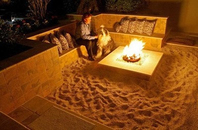 14. BACK GARDEN BEACH WITH FIRE PIT