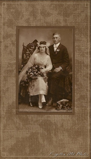 Wedding Photo from around the 1920'sDorset Antique Shop
