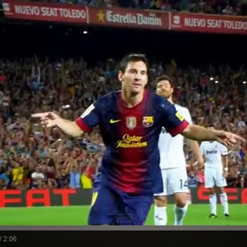 Lionel Messi - Top 10 Goals 2012-2013