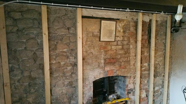 renovating an old stone cottage breathable insulation on