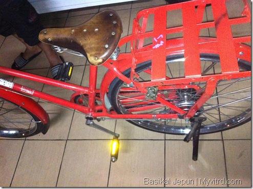 Basikal Tua Dari Jepun 4