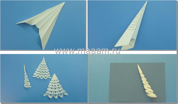 Tarjeta rbol navidad en relieve manualidades para ni os - Manualidades de navidad para ninos paso a paso ...