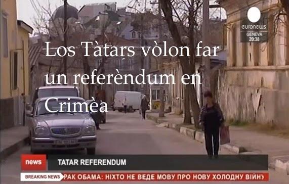 Los Tàtars vòlon un referèndum en Crimèa