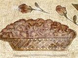 Mosaico representando una fuente de puls romano - MANN