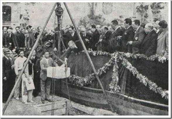 1935 primera piedra_hemeroteca nacional_Ateneo