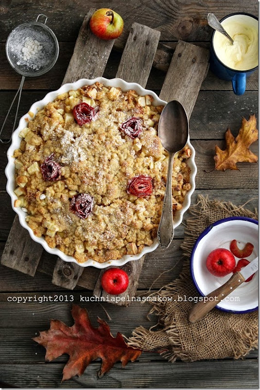 jabłka z migdałami pod kruszonką (7)