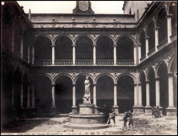 Colegio CLAUSTRO COLEGIO DEL PATRIARCA_LA PALLETERA 1896