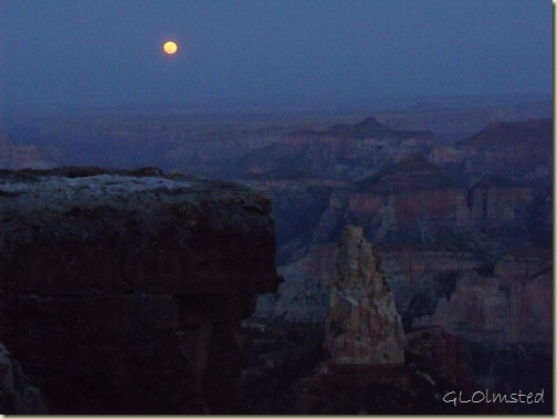 06 Full moon over canyon &amp; Mt Hayden Pt Imperial NR GRCA NP AZ (1024x768)