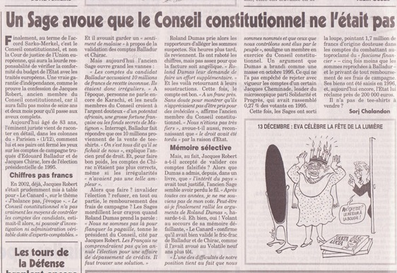 Las institucions francesas