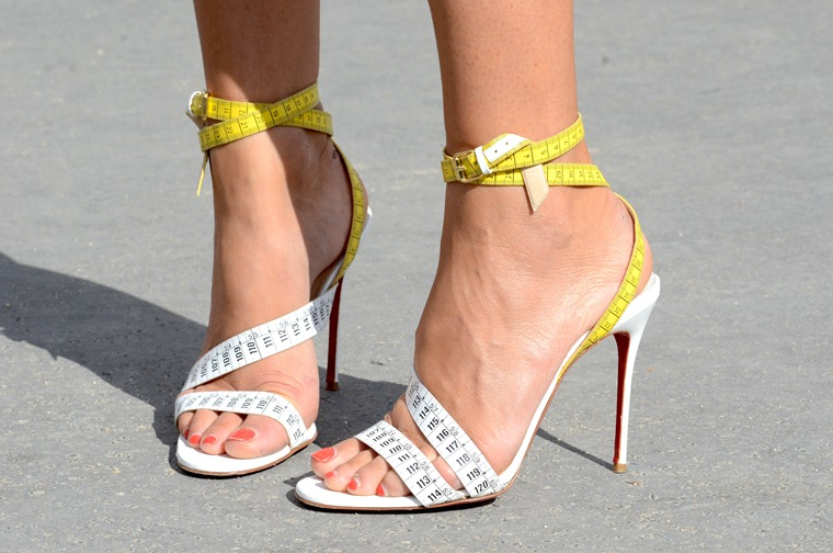 NobodyKnowsMarc.com Gianluca Senese Paris Fashion week elisa nalin louboutin
