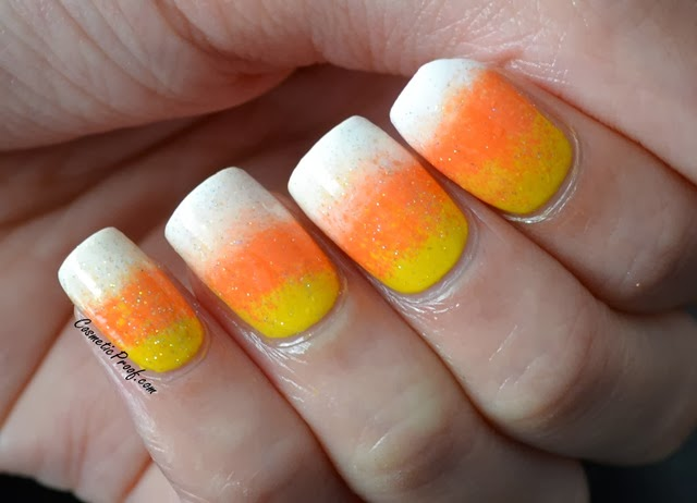 The Prom Show Candy Corn Nails Cosmetic Proof Vancouver Beauty