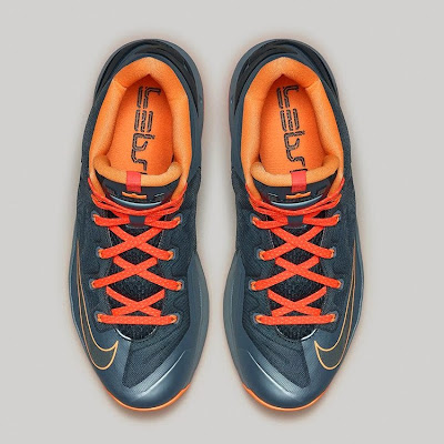 nike lebron 11 low gr grey orange lava 2 08 Nike LeBron 11 Low Magnet Grey Available Now