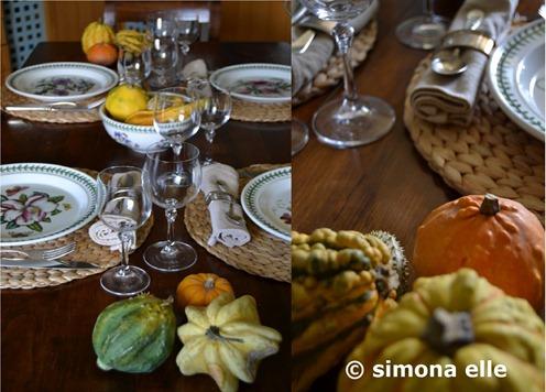 autunno zucche sottopiatti paglia 2