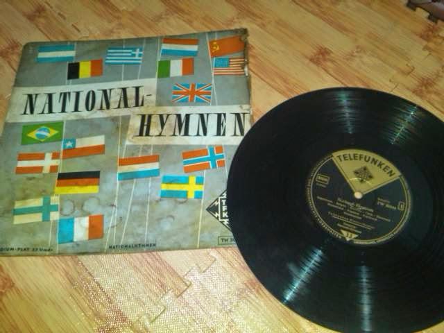 Piringan Hitam/vinyl LP Lagu-lagu Kebangsaan Internasional