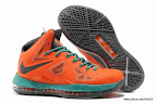 lbj10 fake colorway orange 1 02 Fake LeBron X