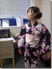 帯遊び 浴衣ファッションショーのお手伝い (5)