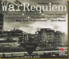 Britten War Requiem Masur front