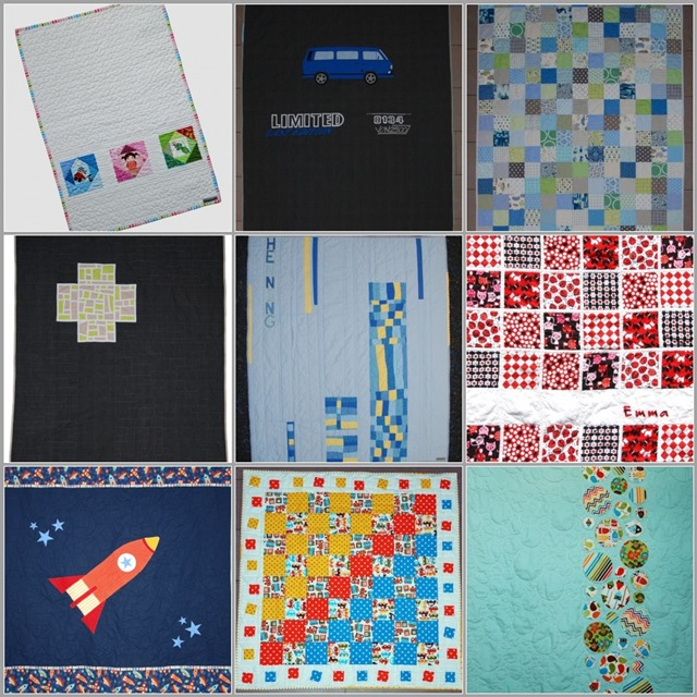 Mosaic 1 year blogiversary quilts
