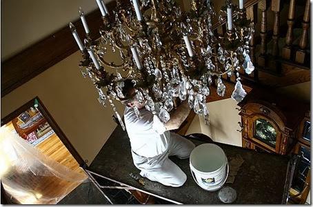 chandelier-clean