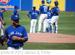 'Alvarez leaves the mound after a disappointing outing.' photo (c) 2012, James G - license: http://creativecommons.org/licenses/by/2.0/