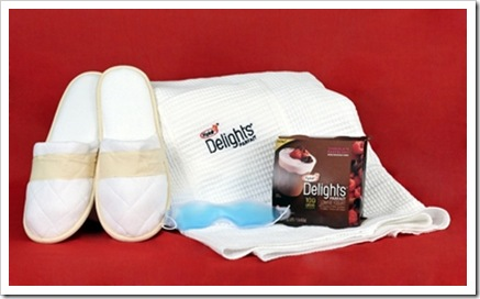 Yoplait Delights gift package