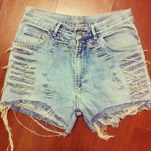 Ateliê Alêlier Rio - short jeans customizado