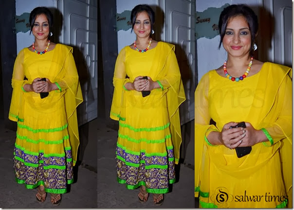 Tisca_Chopra_Yellow_Long_Salwar_Kameez
