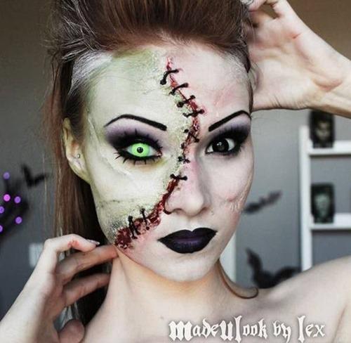 maquillaje miedo disfracesfaciles (15)