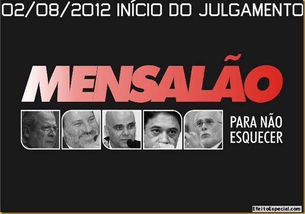 02 - 08 - 2012 Julgamento do Mensalão