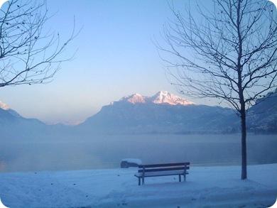 Varcurago  Lago neve