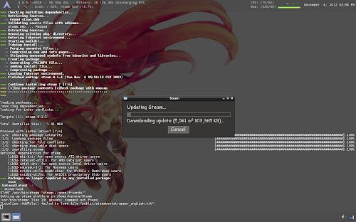 Steam su Arch Linux