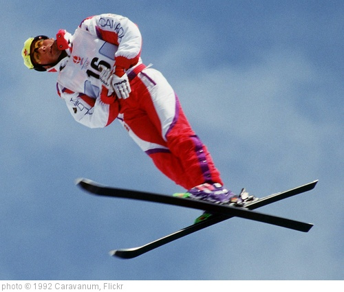 'ALBERTVILLE WINTER OLYMPICS- FREESTYLE SKI/ AERIALS' photo (c) 1992, Caravanum - license: http://creativecommons.org/licenses/by/2.0/