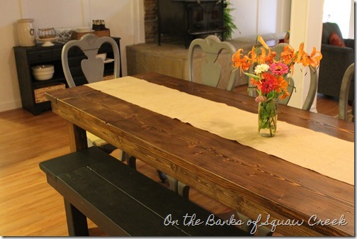 diy harvest table