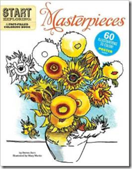 Start Exploring Masterpieces:  A fact-filled coloring book