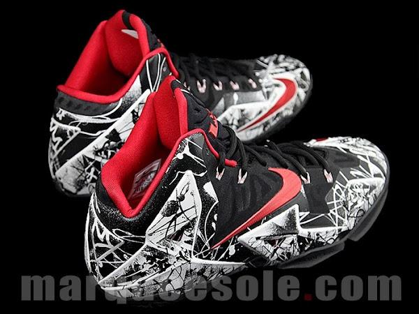 Coming Soon8230 Nike LeBron XI Graffiti 616175100