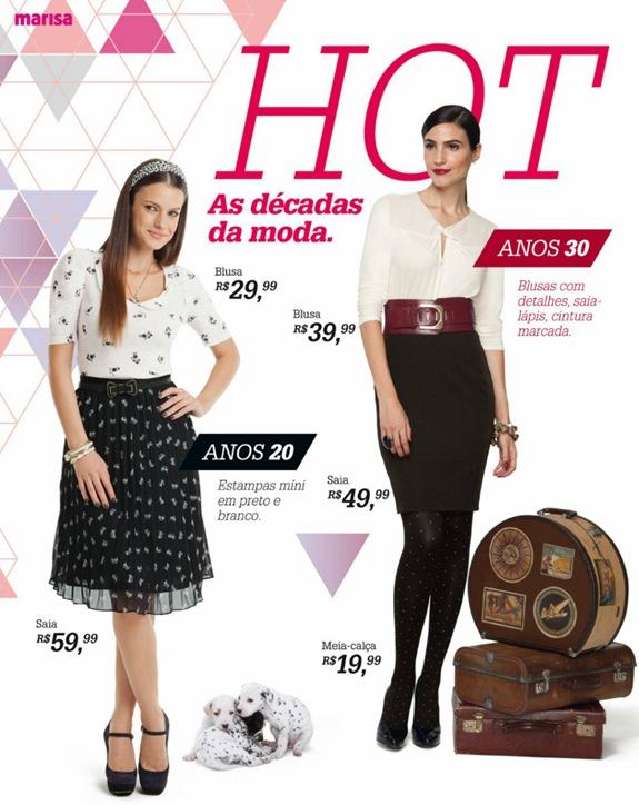 Marisa Coleção Outono-Inverno 2012 nas lojas a partir do dia 06 de março.