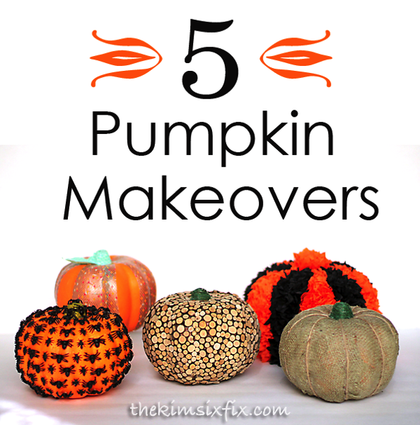 Pumpkin makeovers
