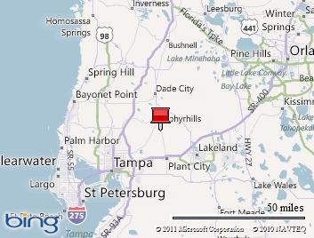 Map Zephyrhills Floridamap Of Usa