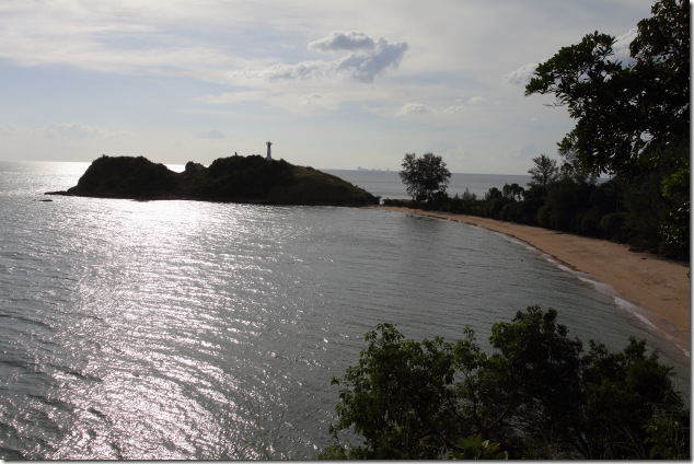 Southern most point on Ko Lanta from a view point
