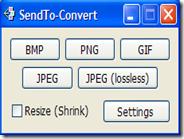 Convertire immagini al volo dal menu del tasto destro del mouse