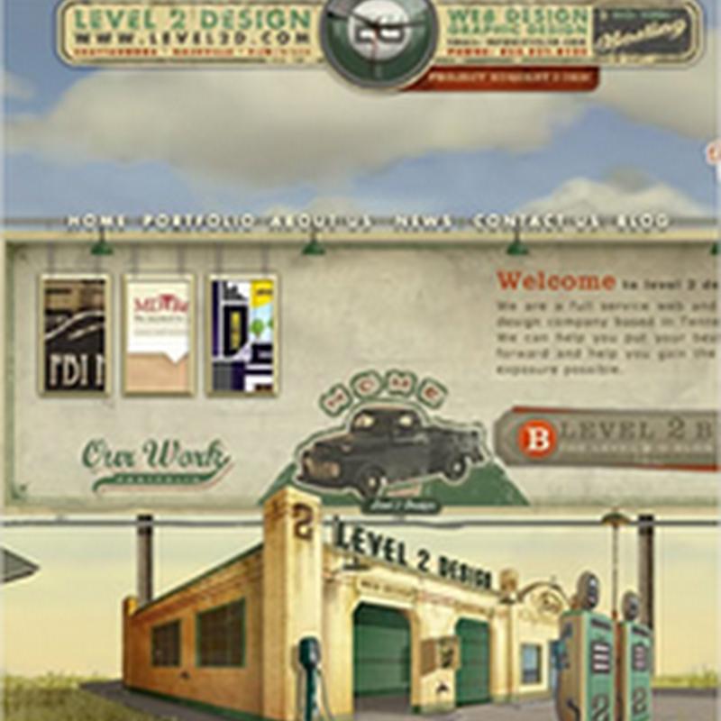 23 sitios web con efecto vintage
