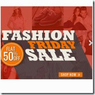 Homeshop18: Buy Clothing, Accessories & Footwears upto 70% off + 50% off on Rs. 1599