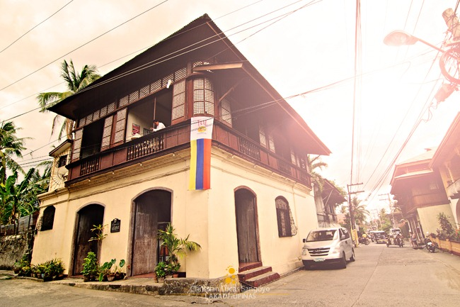Goco Ancestral House in Taal, Batangas