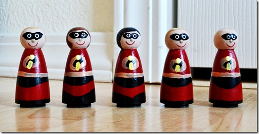 incredibles peg people 1