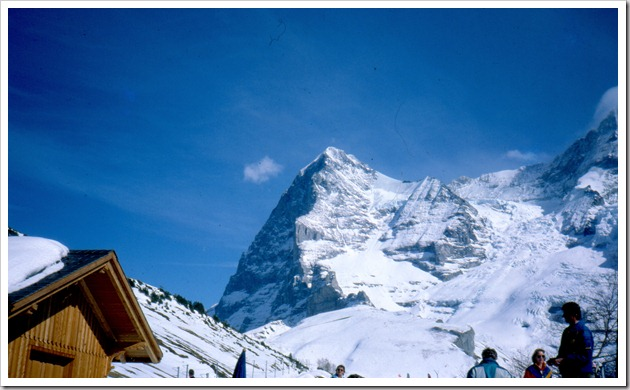 The Eiger from