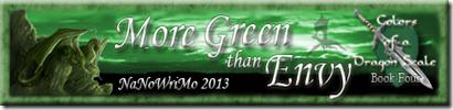 More Green than Envy Signature