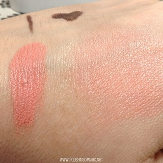 butter LONDON Cheeky Blush in Apple Pie swatc