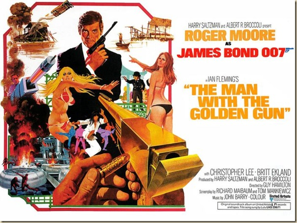 Affiche cinéma de James Bond (14)