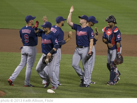 'Cleveland Indians' photo (c) 2013, Keith Allison - license: http://creativecommons.org/licenses/by-sa/2.0/